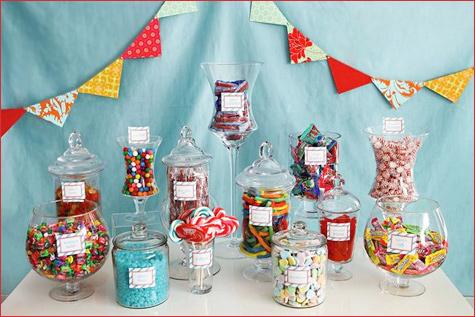 Candy bar alebo sladkosti na svadbe - Obrázok č. 83