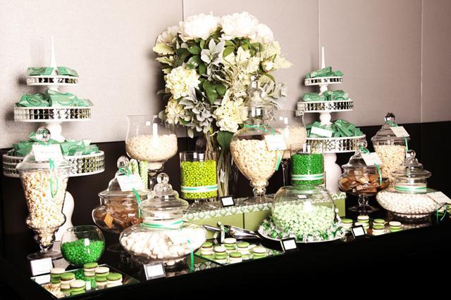 Candy bar alebo sladkosti na svadbe - Obrázok č. 87