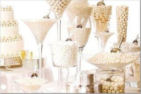 Candy bar alebo sladkosti na svadbe - Obrázok č. 90