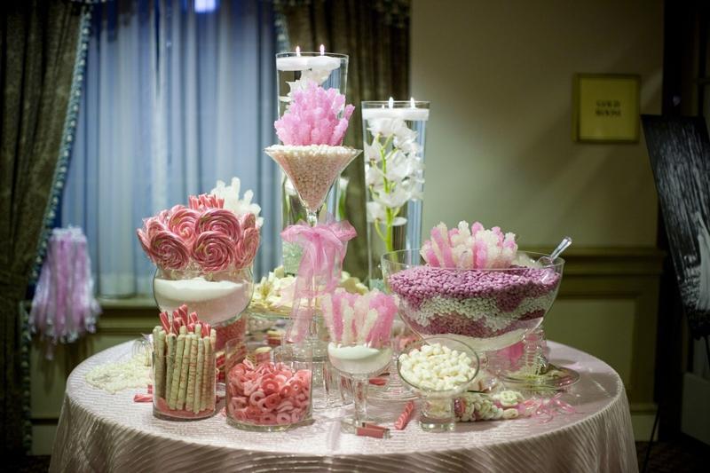 Candy bar alebo sladkosti na svadbe - Obrázok č. 91