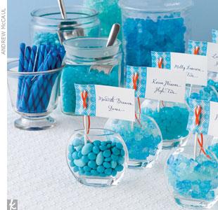 Candy bar alebo sladkosti na svadbe - Obrázok č. 92