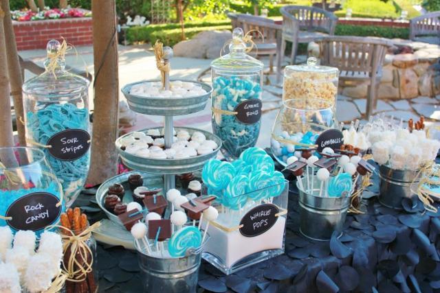 Candy bar alebo sladkosti na svadbe - Obrázok č. 98
