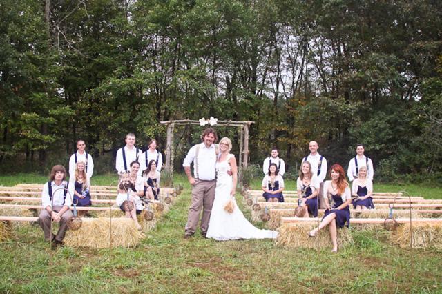 Vidiecka svadba inšpirácie - Obrázok č. 47