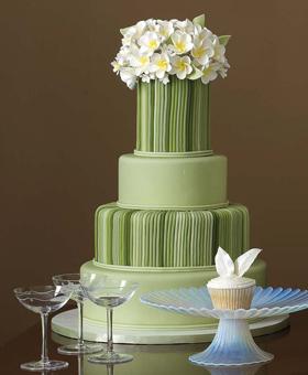Zelené torty inšpirácie - Obrázok č. 1