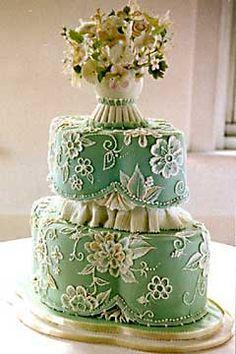 Zelené torty inšpirácie - Obrázok č. 3