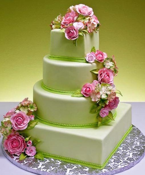Zelené torty inšpirácie - Obrázok č. 4