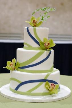 Zelené torty inšpirácie - Obrázok č. 5
