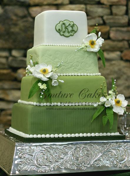Zelené torty inšpirácie - Obrázok č. 7