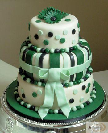 Zelené torty inšpirácie - Obrázok č. 8