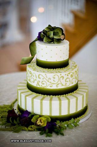 Zelené torty inšpirácie - Obrázok č. 9