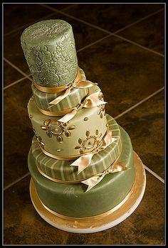 Zelené torty inšpirácie - Obrázok č. 10
