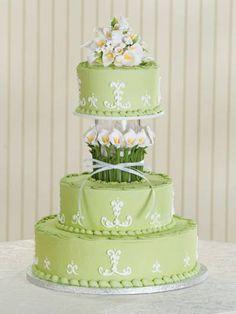 Zelené torty inšpirácie - Obrázok č. 12