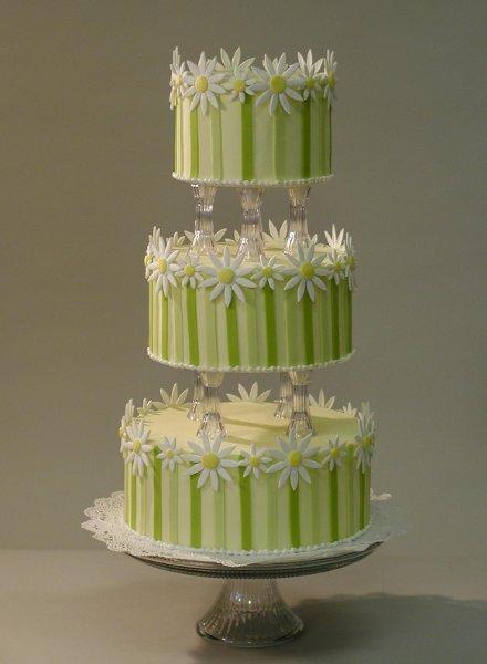 Zelené torty inšpirácie - Obrázok č. 14
