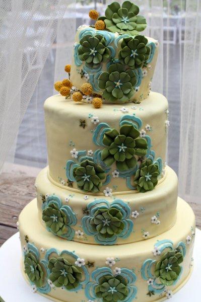 Zelené torty inšpirácie - Obrázok č. 15