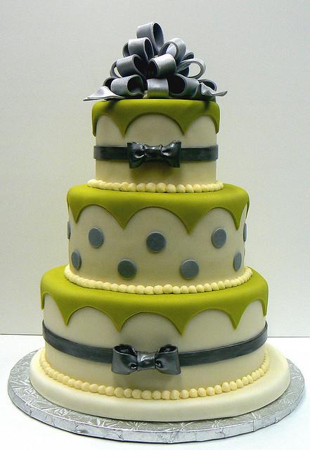 Zelené torty inšpirácie - Obrázok č. 19