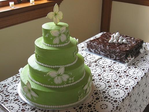 Zelené torty inšpirácie - Obrázok č. 20