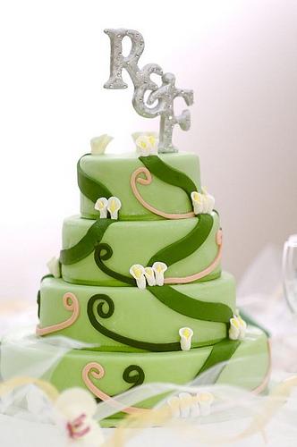 Zelené torty inšpirácie - Obrázok č. 21