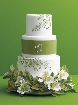 Zelené torty inšpirácie - Obrázok č. 22