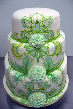 Zelené torty inšpirácie - Obrázok č. 24