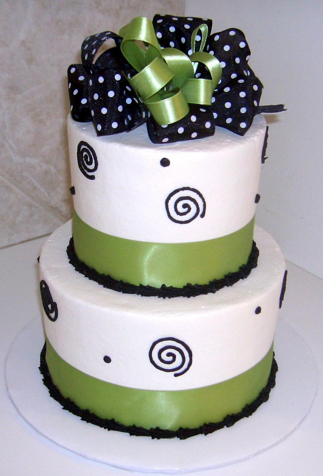 Zelené torty inšpirácie - Obrázok č. 25