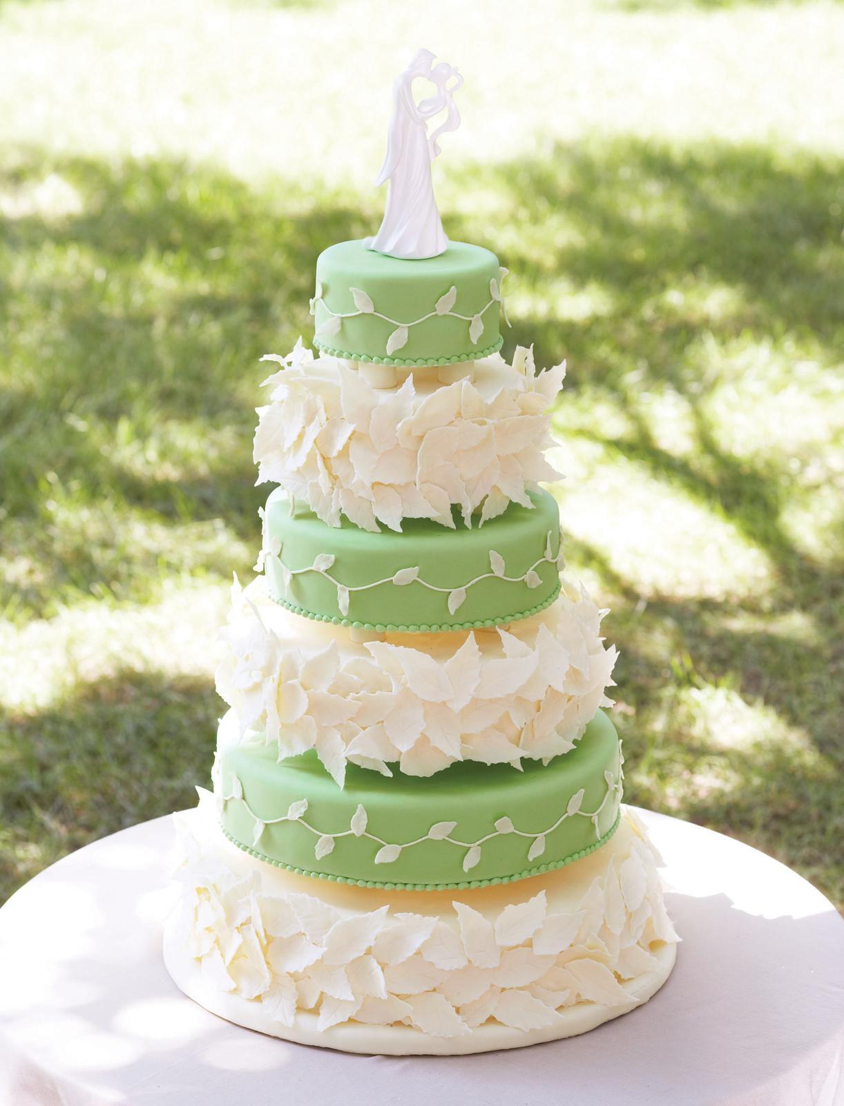 Zelené torty inšpirácie - Obrázok č. 26