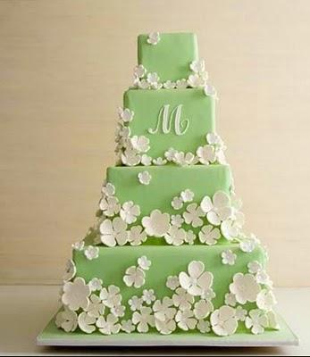 Zelené torty inšpirácie - Obrázok č. 29