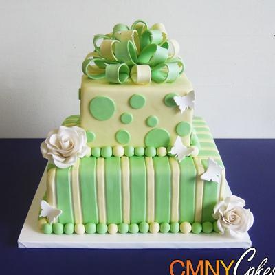 Zelené torty inšpirácie - Obrázok č. 31