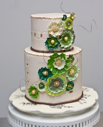 Zelené torty inšpirácie - Obrázok č. 33