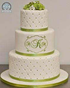 Zelené torty inšpirácie - Obrázok č. 34