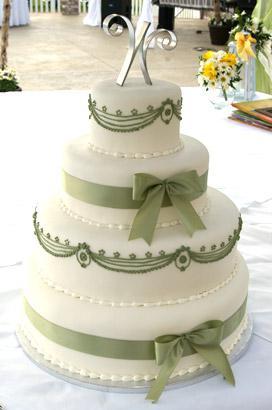 Zelené torty inšpirácie - Obrázok č. 35