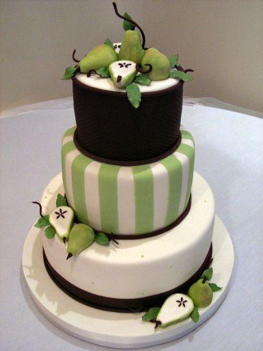Zelené torty inšpirácie - Obrázok č. 36