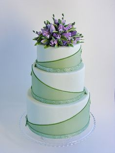 Zelené torty inšpirácie - Obrázok č. 37