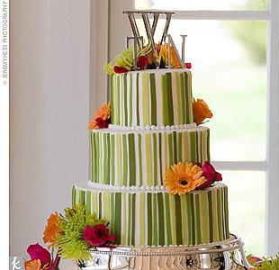 Zelené torty inšpirácie - Obrázok č. 38