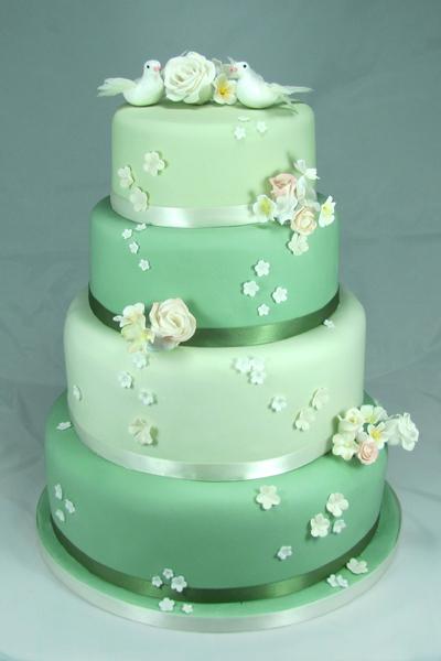 Zelené torty inšpirácie - Obrázok č. 40