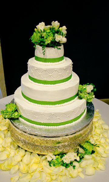 Zelené torty inšpirácie - Obrázok č. 41