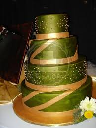 Zelené torty inšpirácie - Obrázok č. 42