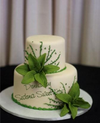 Zelené torty inšpirácie - Obrázok č. 45