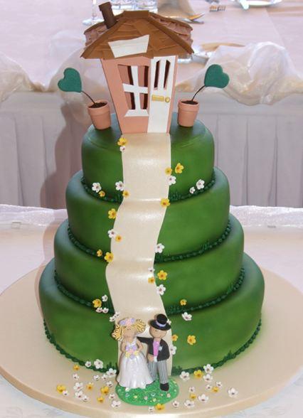 Zelené torty inšpirácie - Obrázok č. 46