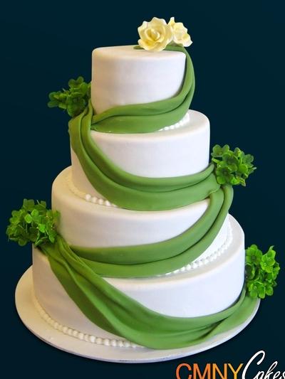 Zelené torty inšpirácie - Obrázok č. 47