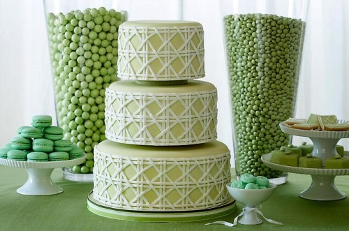 Zelené torty inšpirácie - Obrázok č. 49
