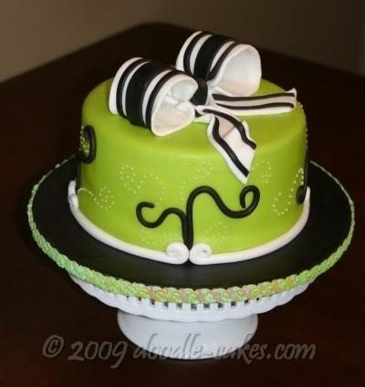 Zelené torty inšpirácie - Obrázok č. 51