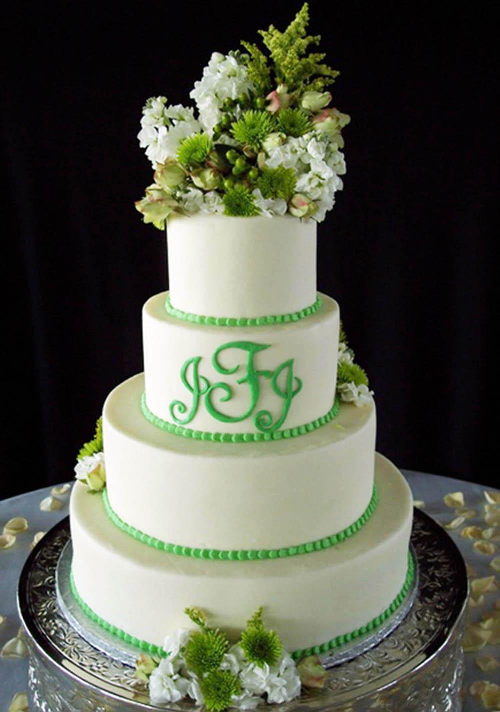 Zelené torty inšpirácie - Obrázok č. 52