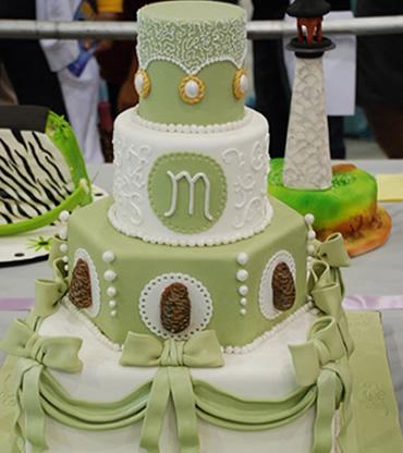 Zelené torty inšpirácie - Obrázok č. 53