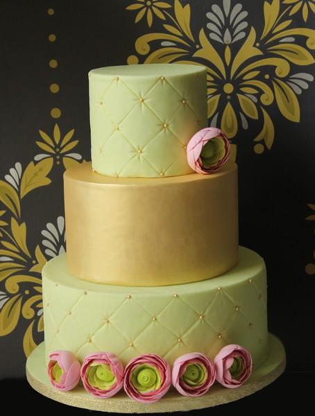 Zelené torty inšpirácie - Obrázok č. 55