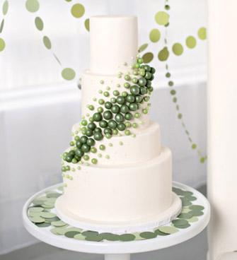 Zelené torty inšpirácie - Obrázok č. 56