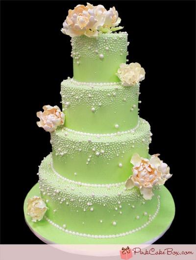 Zelené torty inšpirácie - Obrázok č. 57