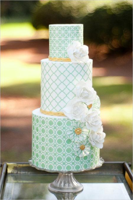 Zelené torty inšpirácie - Obrázok č. 58