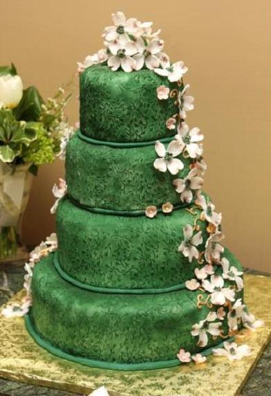 Zelené torty inšpirácie - Obrázok č. 59