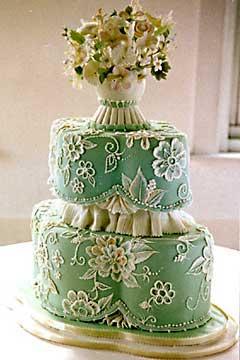 Zelené torty inšpirácie - Obrázok č. 62