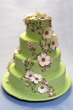 Zelené torty inšpirácie - Obrázok č. 63